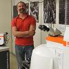 Dr Sergey Prikhodko in his laboratory.