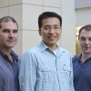 Photo of Michael Kurczy, Mingliang Fang and H. Paul Benton
